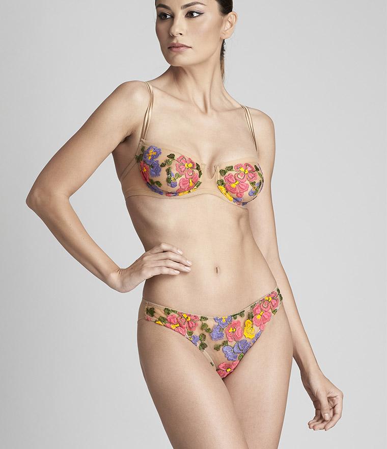 nikita jane id sarrieri embroidered low waist brazillian brief