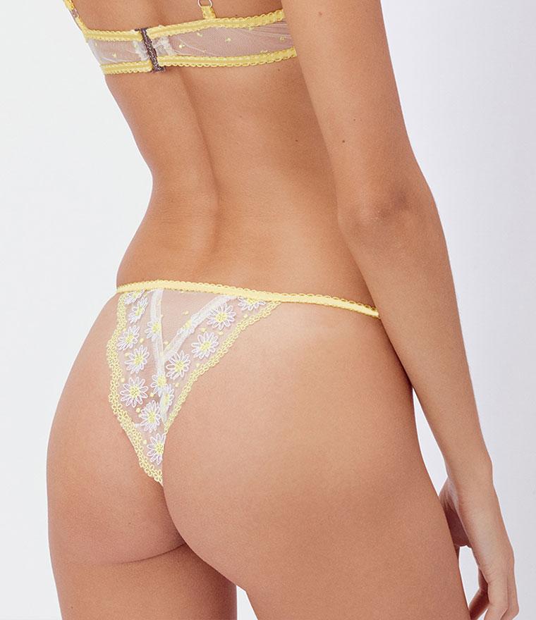 nikita jane for love and lemons lemon drop cheeky panty