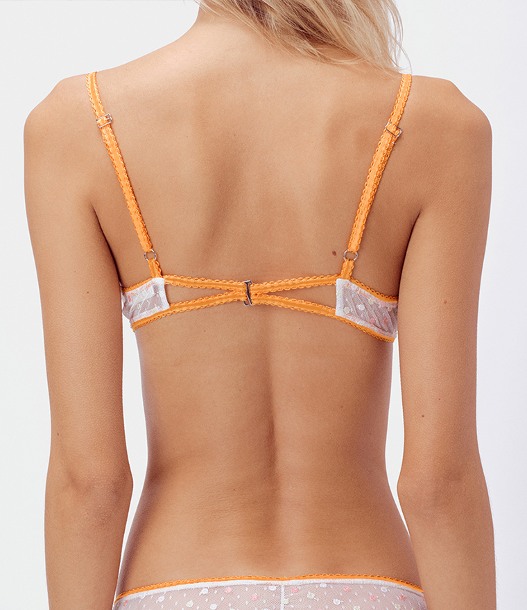 nikita jane for love and lemons marzipan underwire bra