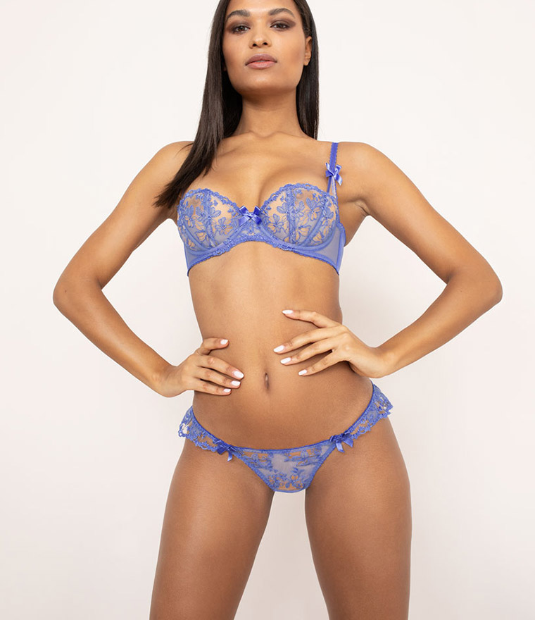 nikita jane agent provocateur florella embroidered tulle briefs
